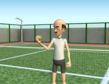 تحريك شخصية ثلاثية الأبعاد